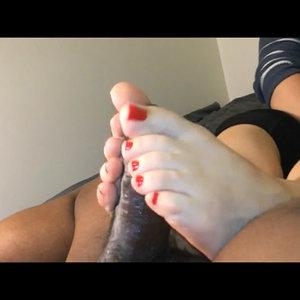 Mature First Footjob
