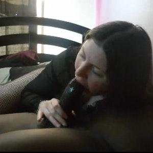 Thick BBC sucking