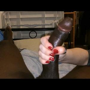 Long BBC Handjob