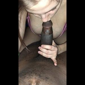 Hot busty girl sucks and rides