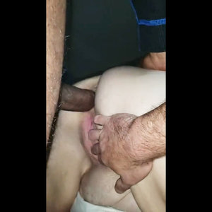 Bull Fucks wife in the ass hubby records video