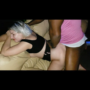 Blonde Hotwife Takes BBC