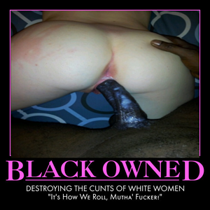 Black-owned white pussy.
