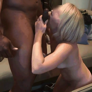 Nice she sure can suck a BBC