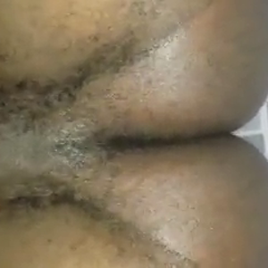 Anal sex view from below