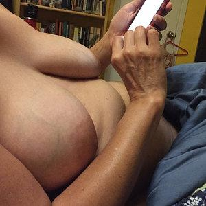 Soft mature breasts