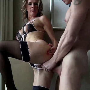 European Cuckold WIfe Takes Black Dick and Hubby