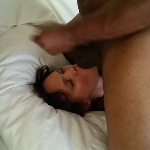 Wife fucked and gets facal