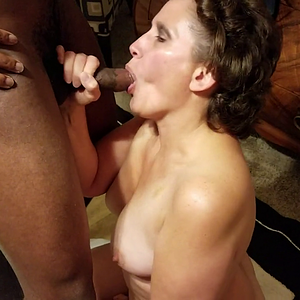 housewife gets nice BBC training lesson