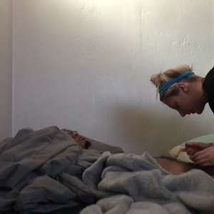 Blonde girl loves to suck blacks