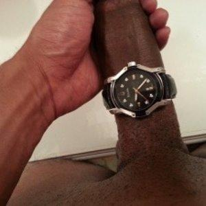 What time is it? BIG black man DICK TIME