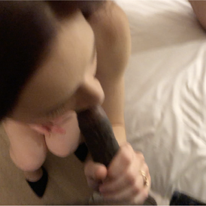 Sucking Me While Her BF Watches...