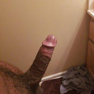 Rock Hard black cock