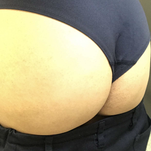 Snap from work- always showing that fat ass