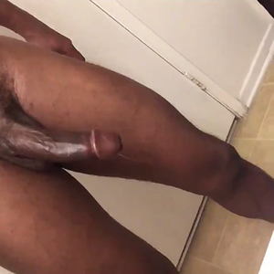 Drooling precum and built to fuck