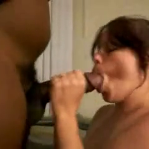 chubby wife servicing BBC
