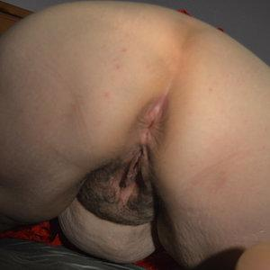 Pussy opened after fucked