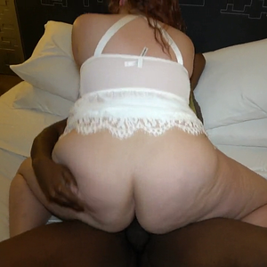 Thick Amateur Hotwife Gets Wet For Pornhub User Blade the BBC Trainer