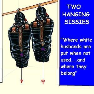 hanging sissies in closet