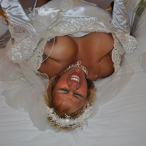 Wedding Nite GB 073 - The Bride Cums Hard