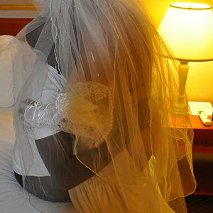 Wedding Nite GB 0108 - The Passionate, Submissive, Polyamorous, Black Cock Addicted Bride