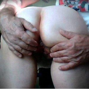 My husband open pussy
