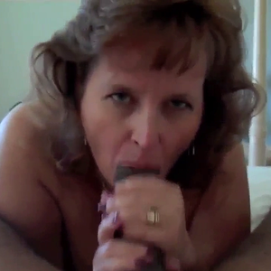 Horny MILF with black lover