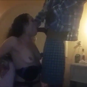 Wife fucks her new black bf