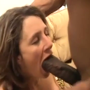 What a load . She can't swallow it all
