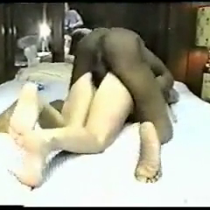 Small wife get's a 12 inch BBC . Hot