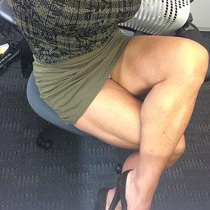 my thick legs