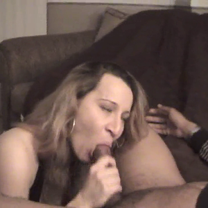 Hubby Jerks Off , While Sarah gets Fucked