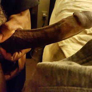 My Strong black cock