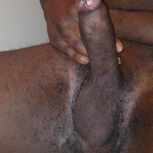Black uncut Dick