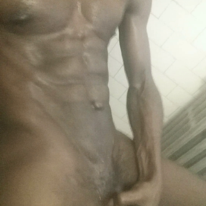 """ Mandingo meat in a homemade sauna! """