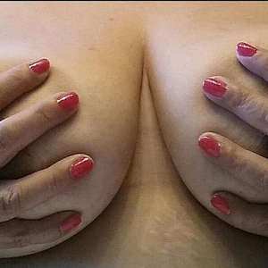 My Latina friend's tits.