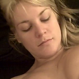 Busty blonde fucks her bf