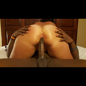 trying to take my bbc in the ass
