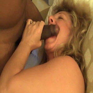 Blonde MILF meets BBC