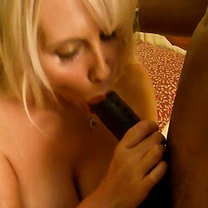 Big tits Blonde fucking some BBC