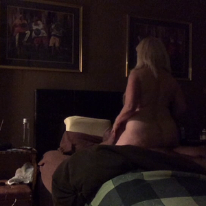 Hotwife visits for the customary Luvrman ride