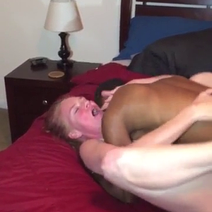 Black guy fucked hotwife while husband films