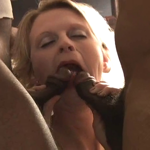 Inside A Blonde MILF