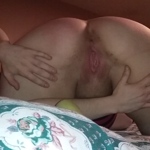 Spread open needing bbc