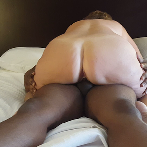 Hotwife rides her bull, Luvrman, and cums