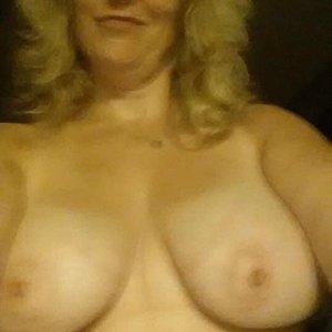 Saggy old tits