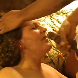 kimba getting a good cum shot