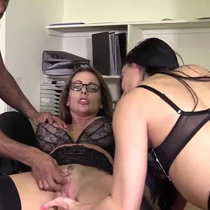 Black Dick for two hot MILFs