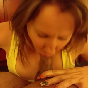 MILF wife cocksucker