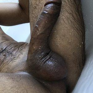 Showered dick